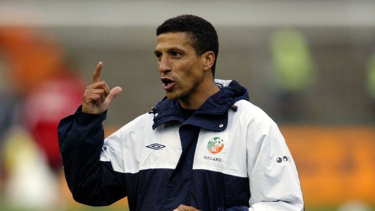Hughton worked as assistant manager for the Republic of Ireland under Brian Kerr