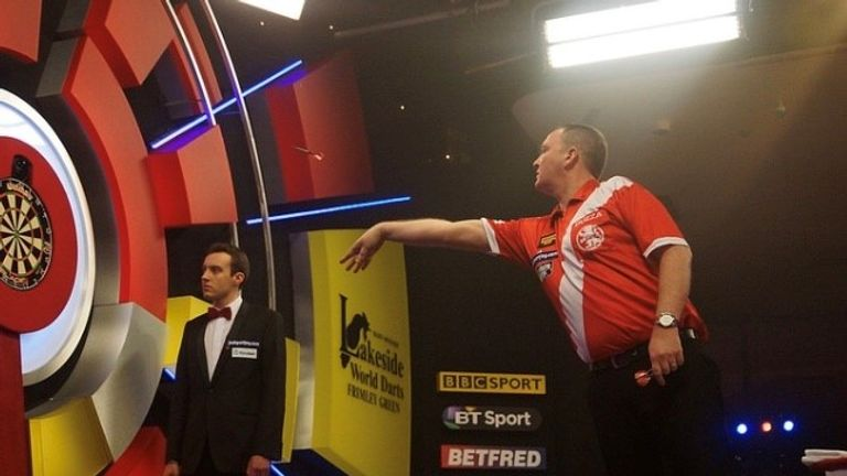 Ware first officiated at the BDO World Darts Championship at the Lakeside Country Club in 2012 and the next year, he was refereeing in the final