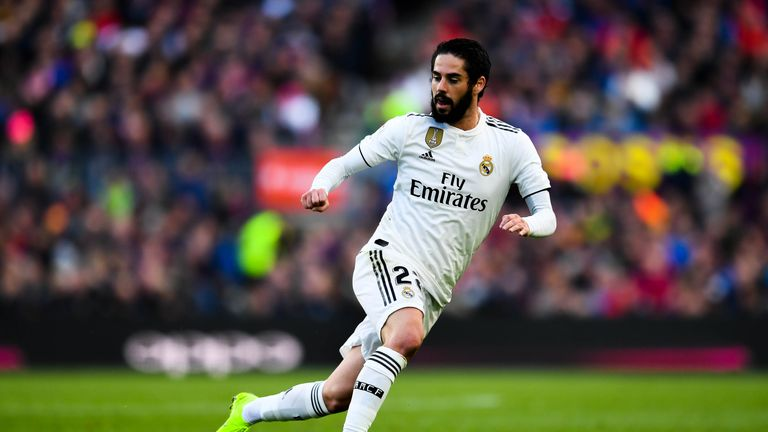 Isco is reportedly a target for Manchester City and Juventus