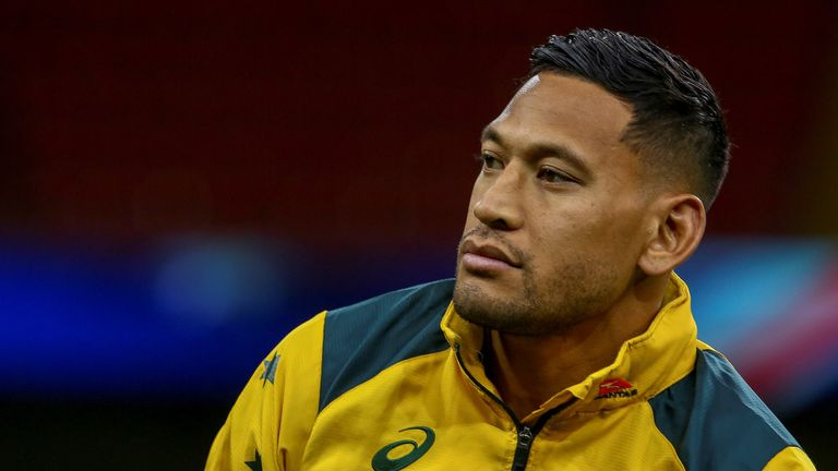 Israel Folau and Bernard Foley have both been hit with a stomach bug this week