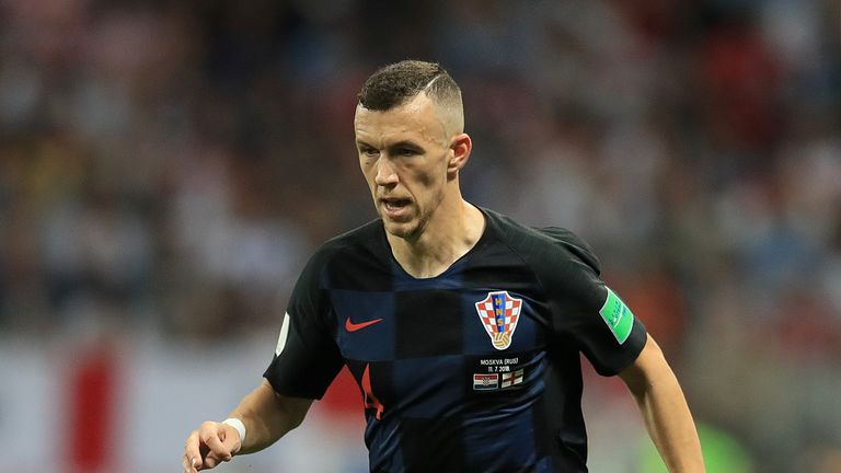 Ivan Perisic scored three goals in seven appearances for Croatia at the 2018 FIFA World Cup in Russia