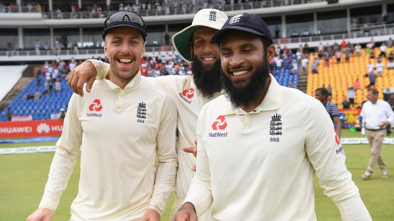 Jack Leach, Moeen Ali and Adil Rashid took a combined 48 wickets in Sri Lanka