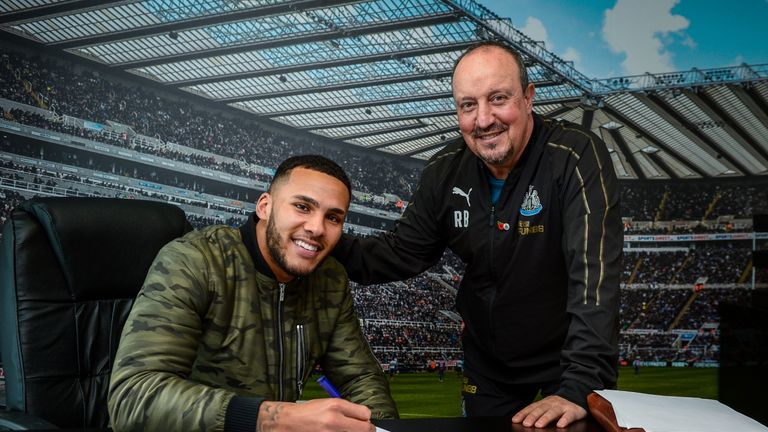 Newcastle captain Jamaal Lascelles signs new six-year deal