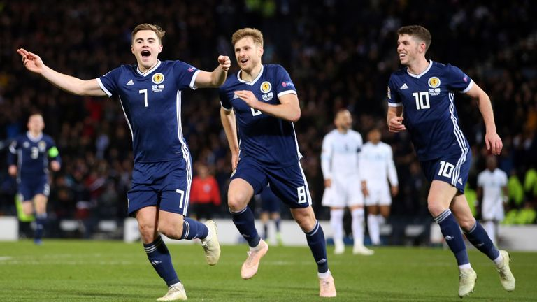 Scotland ended 2018 with back-to-back wins