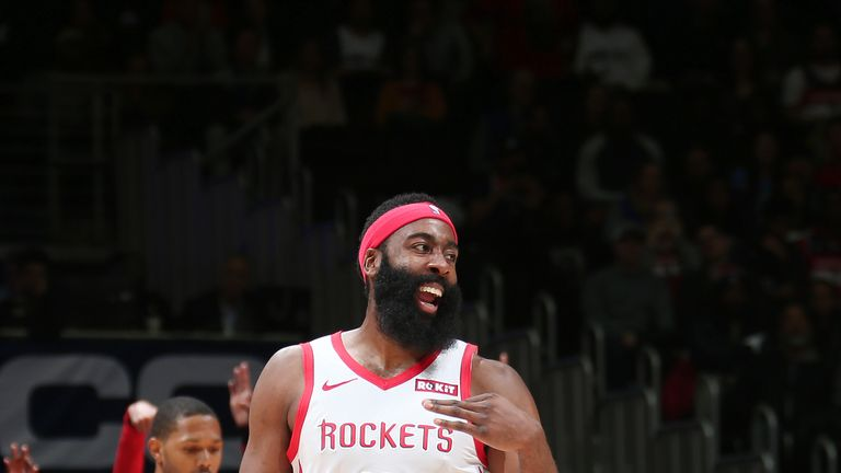 Washington Wizards overcome Houston Rockets in overtime despite James Harden's 54-point game | NBA News |