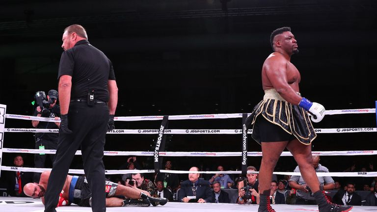 Jarrell Miller is now unbeaten in 24 with a 83% KO ration