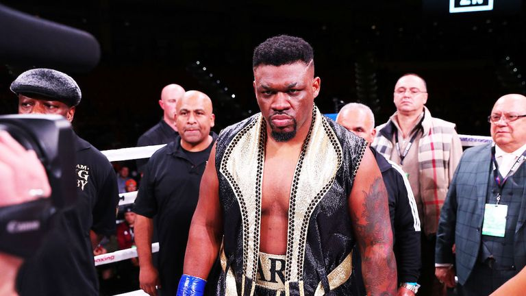 American Jarrell Miller is yet to receive an official offer for the Joshua fight