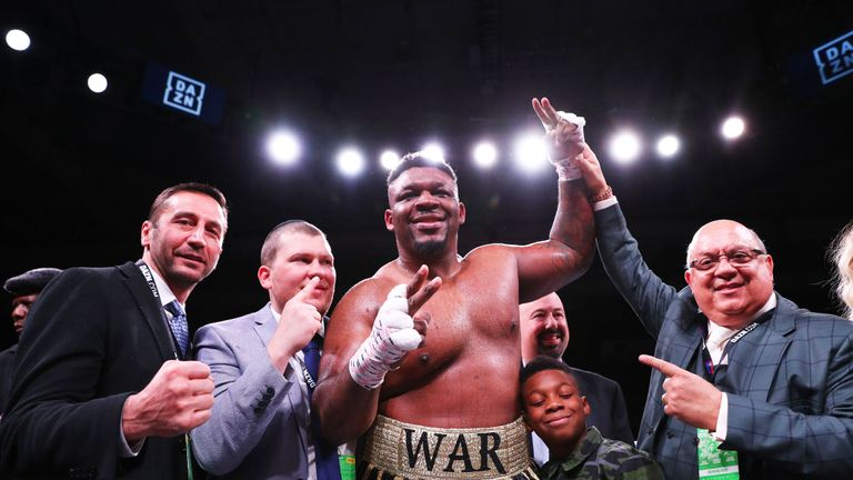 The Brooklyn heavyweight is yet to suffer a defeat in 24 fights