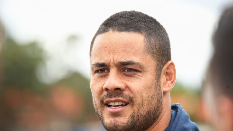 Jarryd Hayne arrested over sexual assault allegations