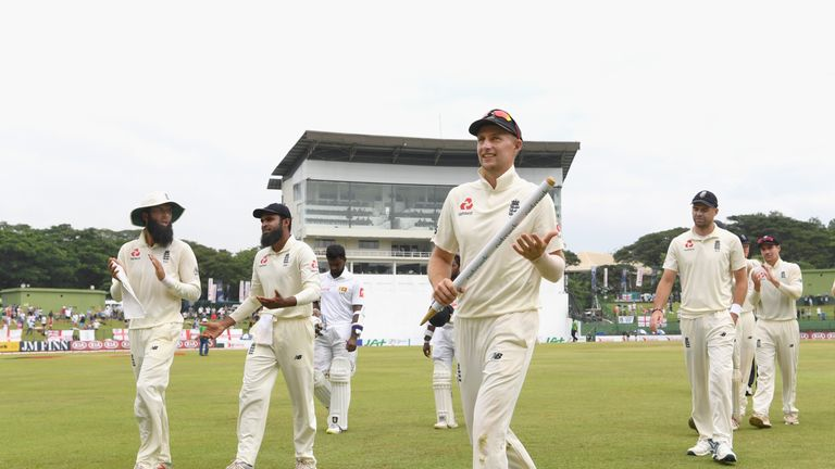 Root recently led England to a 3-0 series win in Sri Lanka