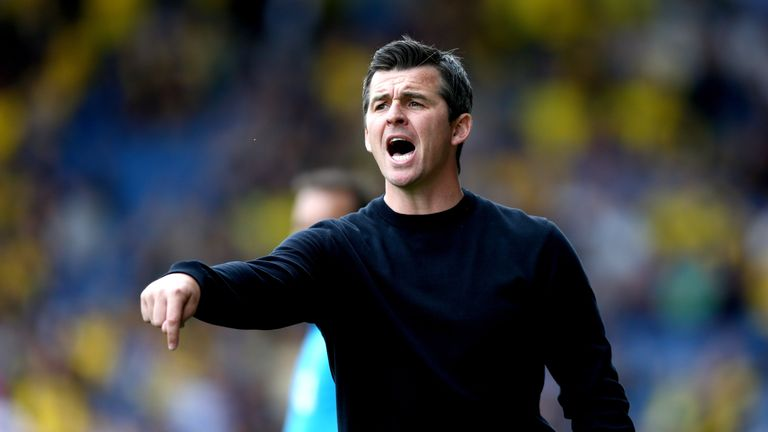 South Yorkshire police will speak to Joey Barton on Wednesday