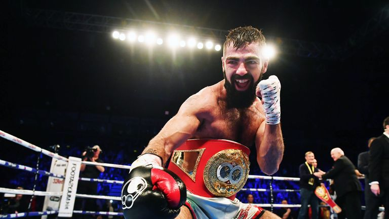Jono Carroll wants to challenge Tevin Farmer in America