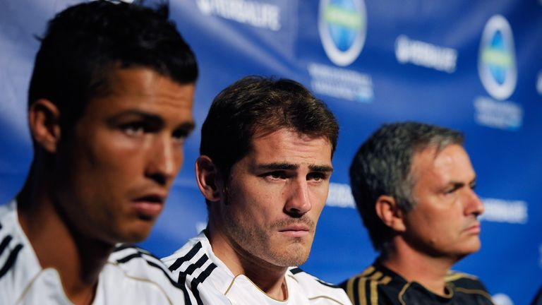 Jose Mourinho says Iker Casillas 'secretly' challenged him at Real Madrid
