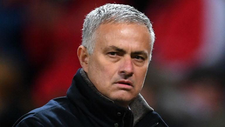 Jose Mourinho remains under pressure at Manchester United
