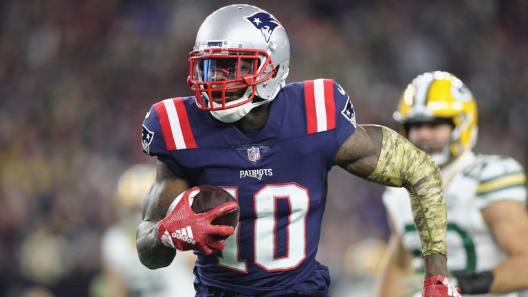 Josh Gordon has added a much-needed deep threat to the Patriots passing game