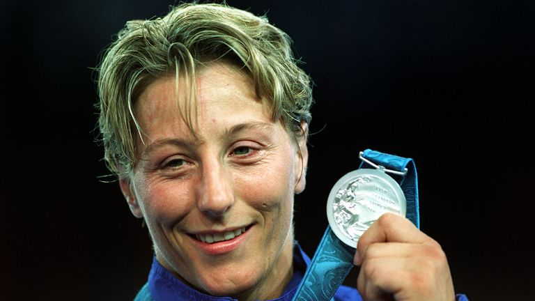 Howey won silver in the women's 70kg class at the Sydney Olympics in 2000