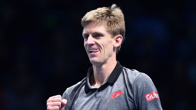 Kevin Anderson is through to the knockout stages of the ATP Finals on debut