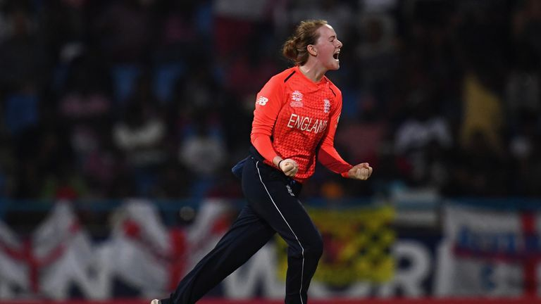Kirstie Gordon took eight wickets in five innings for England