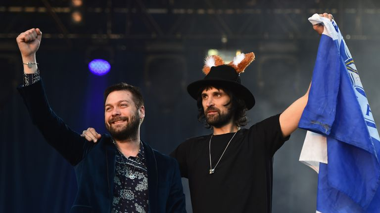 Kasabian's song 'Fire' is normally played after Leicester score
