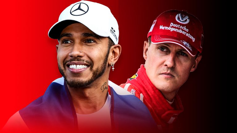 Lewis Hamilton: Will he overhaul Michael Schumacher's F1 records? | F1 News