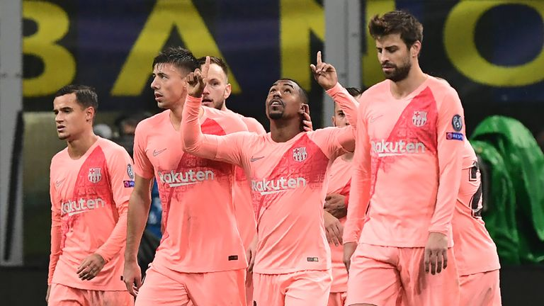 Malcom scored minutes after coming on as a substitute