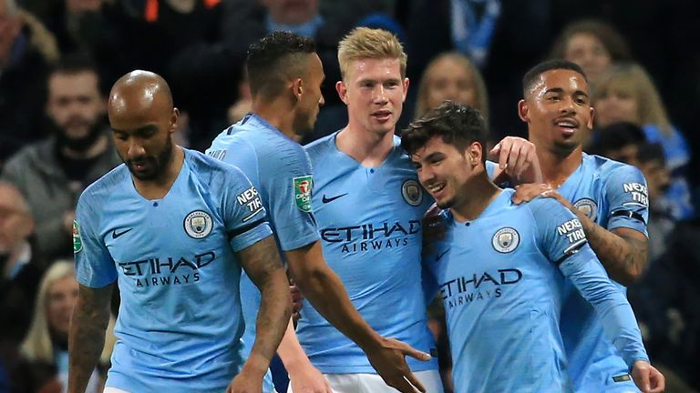 Manchester City have booked their place in the Carabao Cup quarter-finals