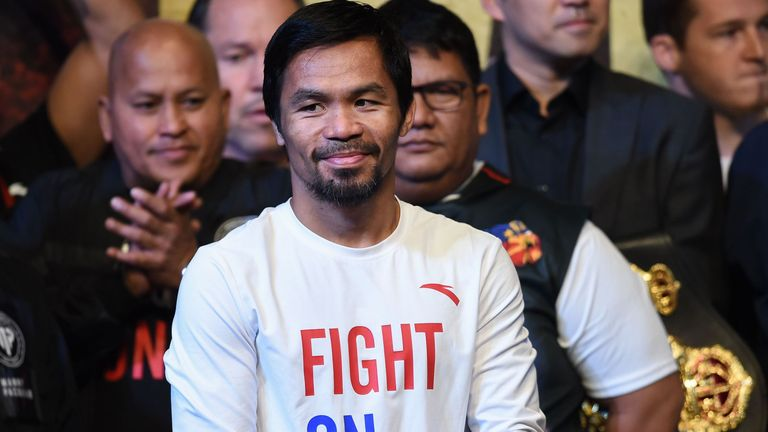 Manny Pacquiao to defend WBA title against Adrien Broner in Las Vegas in January | Boxing News |
