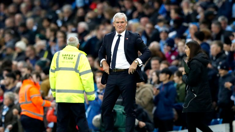 Mark Hughes's Southampton face Watford at St Mary's on Saturday