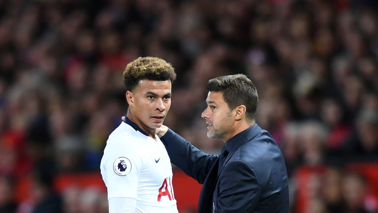 Dele Alli says Mauricio Pochettino's support was a major reason why he signed a new contract