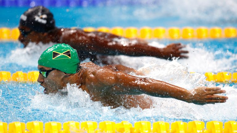 Competing for Jamaica at Tokyo 2020 is Gunning's ultimate goal in swimming