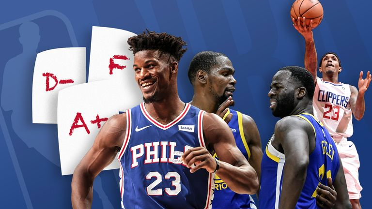 NBA report card - week 5