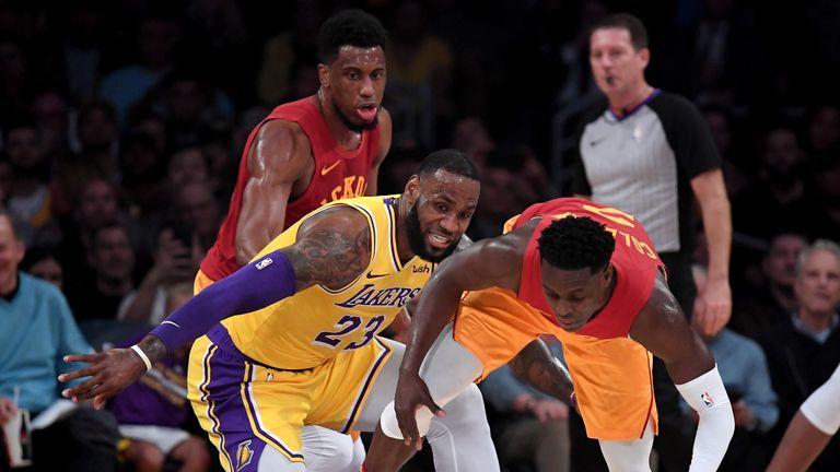 Phoenix Suns @ LA Lakers live on Sky Sports   NBA News  