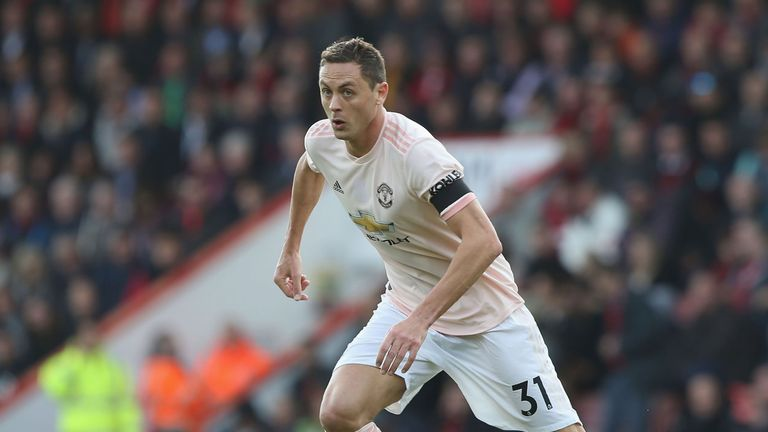 Nemanja Matic suffered a muscular injury in training