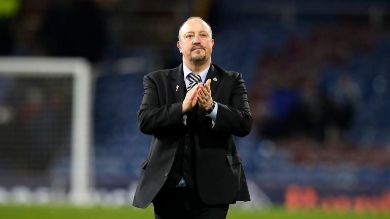 Newcastle manager Rafael Benitez has warned fans to not expect another top-half finish this season