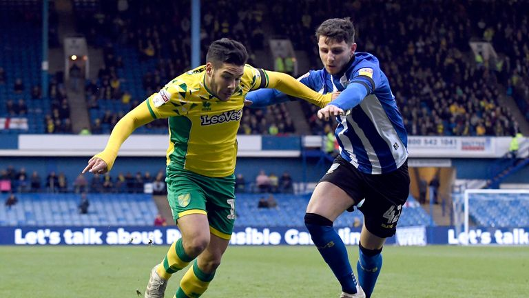 Emiliano Buendia and his Norwich team-mates thrashed Sheffield Wednesday at Hillsborough