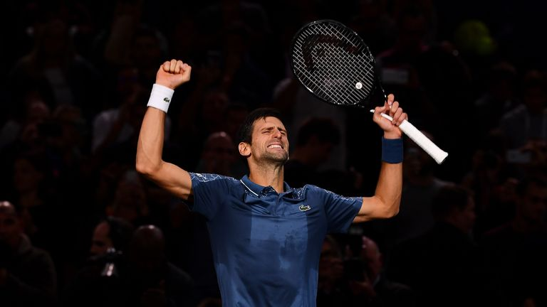 Paris Masters: Djokovic downs Federer to reach final
