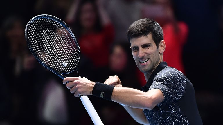 Djokovic was as low as world No 22 in June