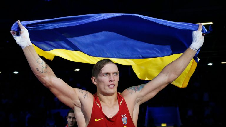 Before Usyk's Olympic gold, he suffered defeats as an amateur