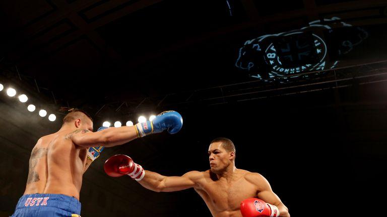 Usyk beat Joyce as amateurs in 2013