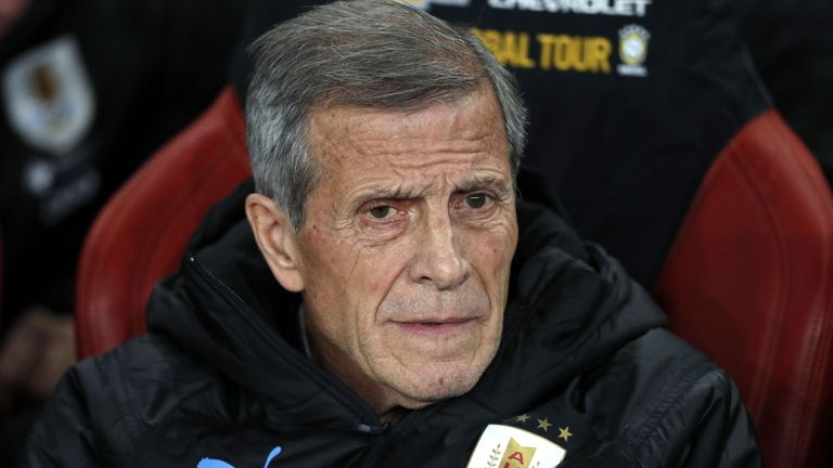 Oscar Tabarez learned a lot about the character of Uruguay's inexperienced players