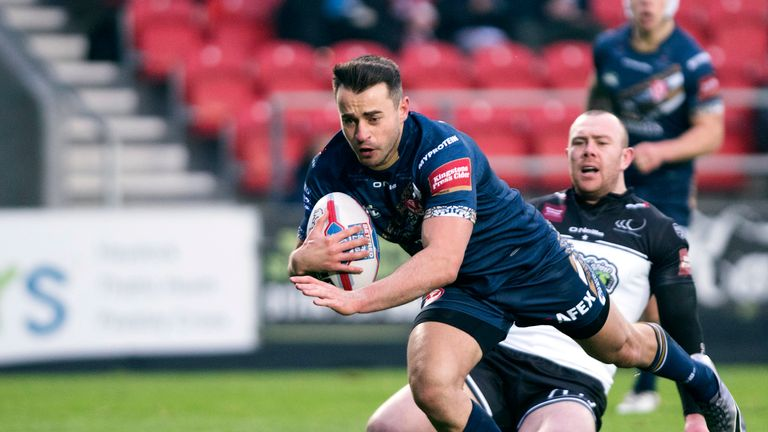 Ryan Morgan has joined London Broncos on loan from St Helens
