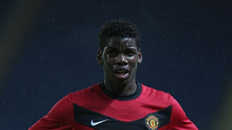 Paul Pogba was coached by Fletcher as a youngster
