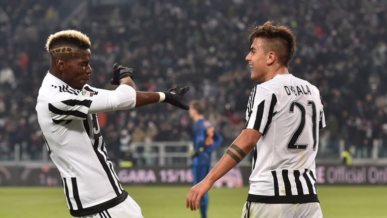 Paul Pogba is good friends with former Juventus team-mate Paulo Dybala