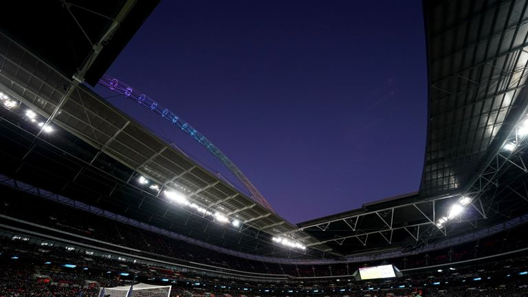 The Wembley arch will be lit in rainbow again when Stonewall FC take to the pitch to play Wilberforce Wanderers in a top-of-the-table clash