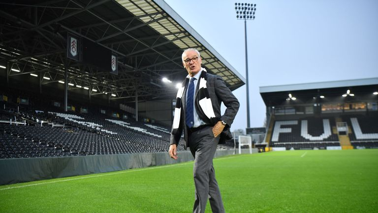Claudio Ranieri led Fulham to victory in his first game in charge