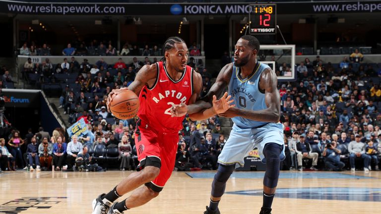 Highlights of the Toronto Raptors victory' over the Memphis Grizzlies
