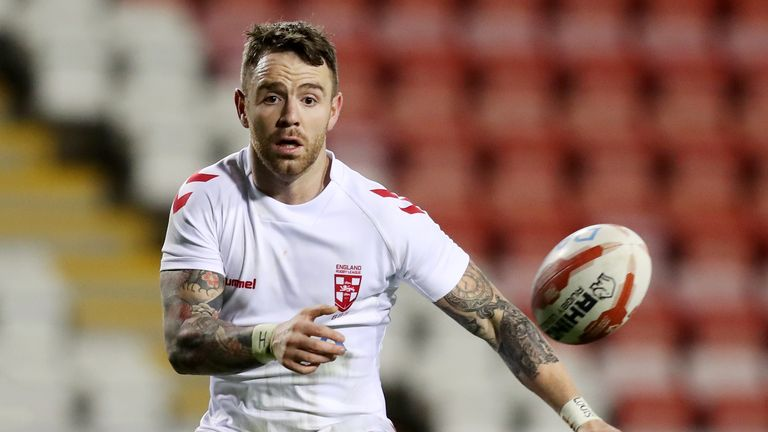 England vs New Zealand: Richie Myler 'chomping at the bit' ahead of Elland Road clash