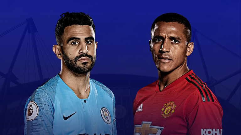 Mahrez and Alexis Sanchez face off when City host Manchester United