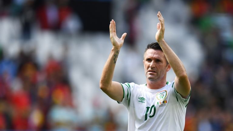 Robbie Keane made a record 146 appearances for Ireland