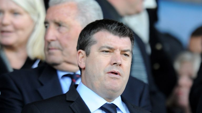 Ron Gourlay admitted it has been a challenging time for Reading